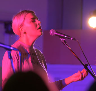 Pink Lady® celebrates first ever gig with Get It Loud in Libraries and Self-Esteem