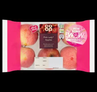 Sharing some Pink Lady® love this Valentine's Day with food charity FareShare and the Co-op