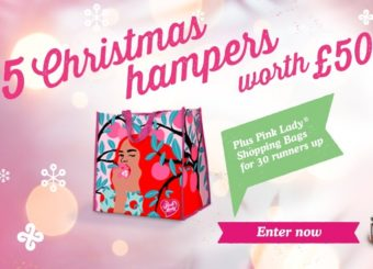 Win a luxurious Christmas hamper worth £50