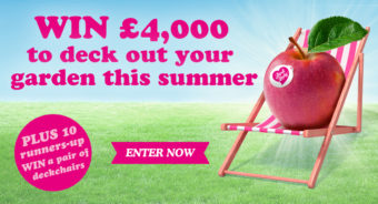 Win £4000 in Garden Centre Vouchers to Deck Out Your Garden