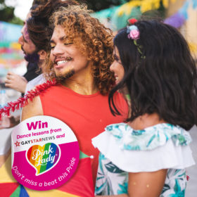 Win dazzling dance   lessons from Pink Lady<sup>®</sup> and Gay Star News