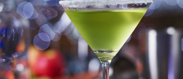Pink Lady® Apple Martini