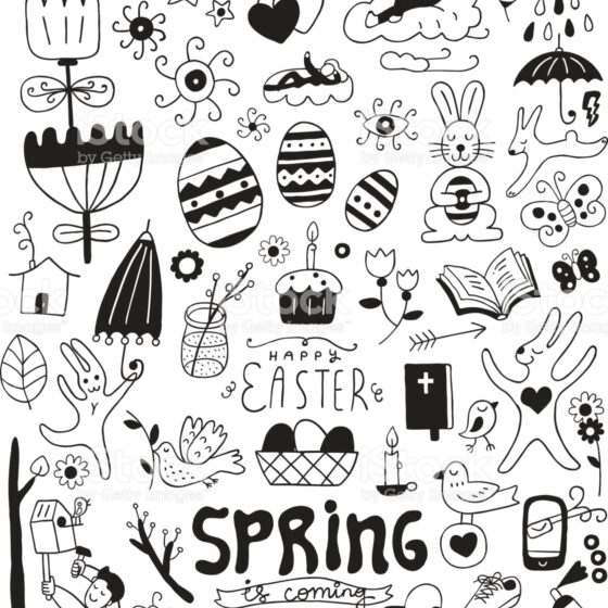 Spring Colouring in