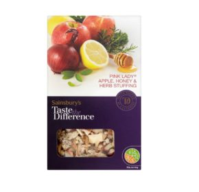 Sainsbury's Taste the Difference Pink Lady® apple honey & herb stuffing 110g