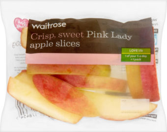 Pink Lady® apple slices 80g